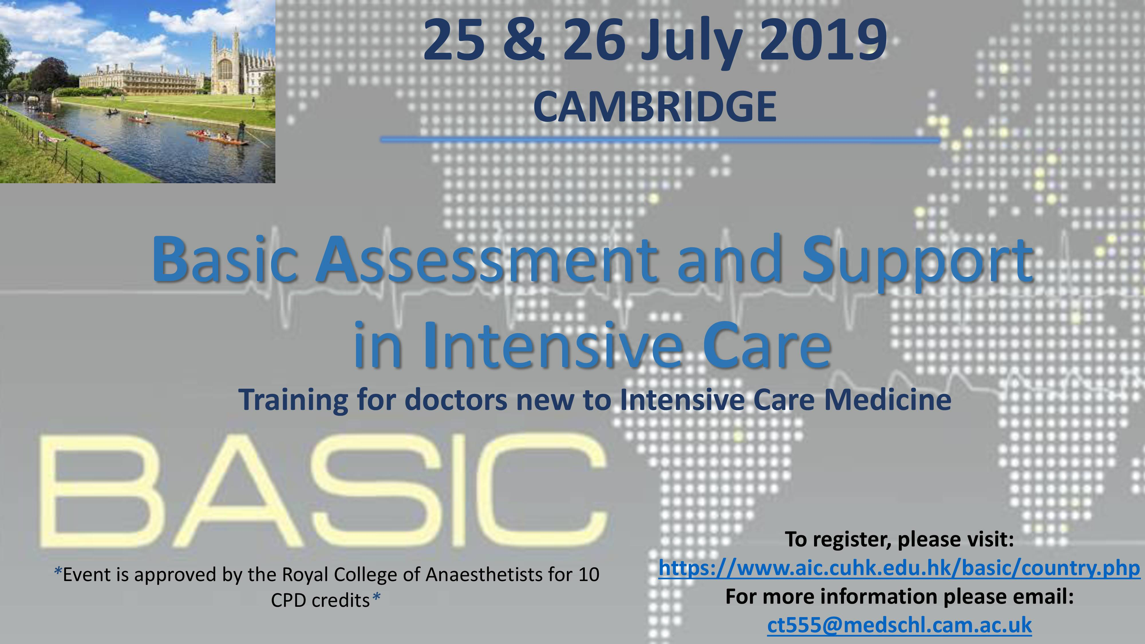 Basic Assessment and Support in Intensive Care (BASIC) 2019