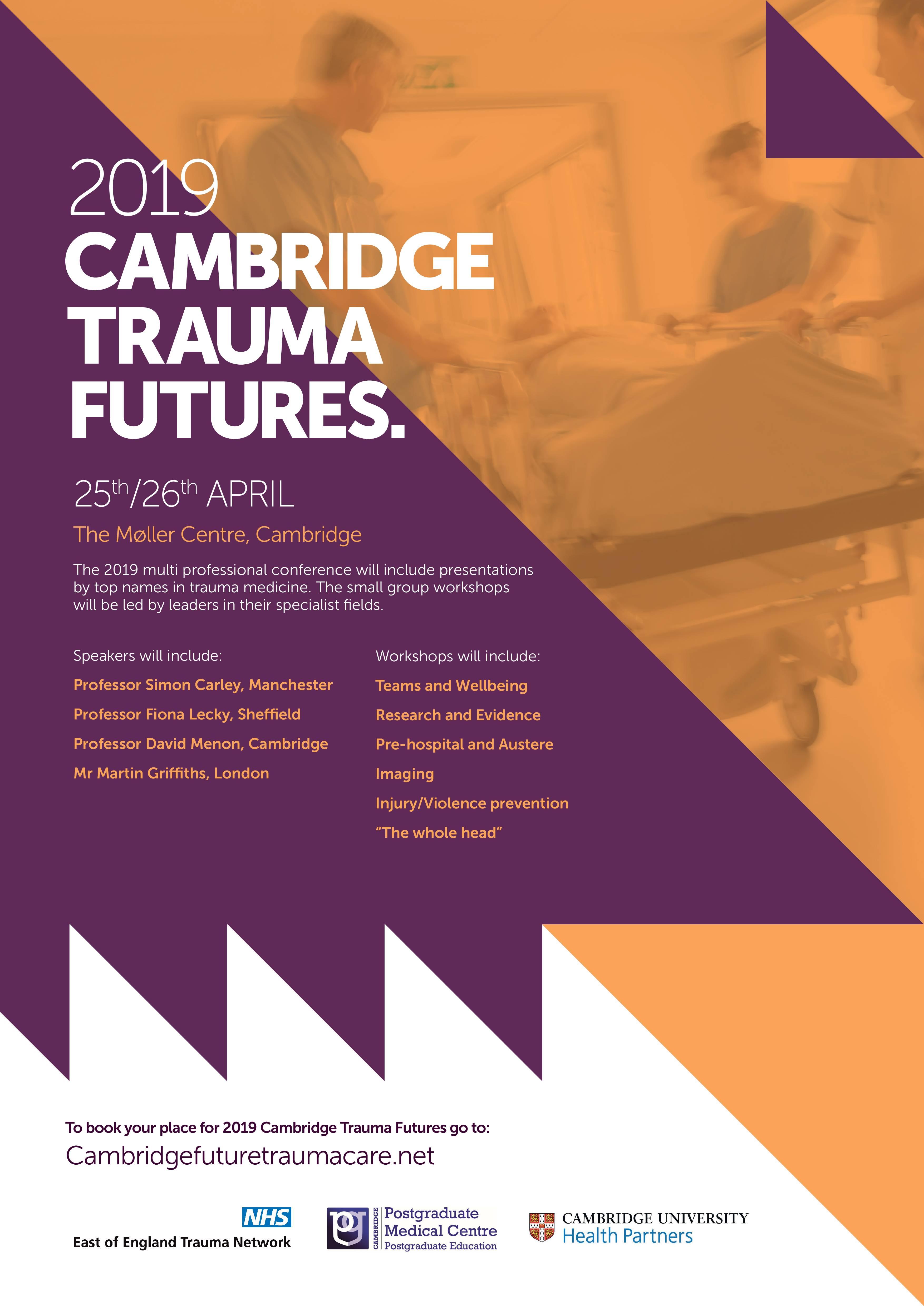 Cambridge Trauma Futures 2019 - Cambridge Postgraduate